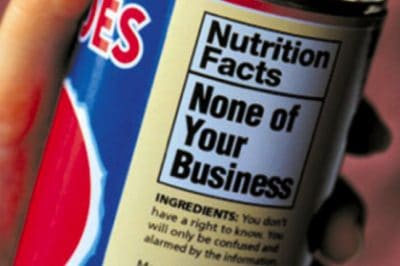 Americans, Prepare To Be In The DARK Again About What's In Your Food