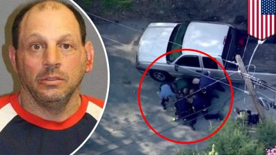 Officers Beat 50-Year-Old Man Who Had Surrendered After A High-Speed Chase [WATCH]