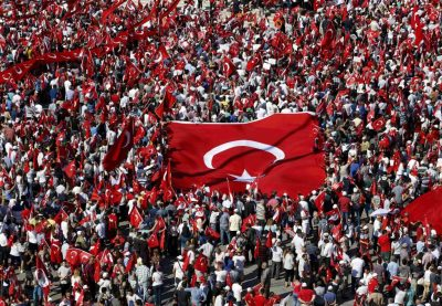 Rally in Turkey Condemns Attempted Coup While Prisoners are Allegedly Mistreated