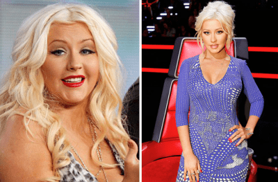 42 Female Celebs and Their Incredible Weight Loss Journey