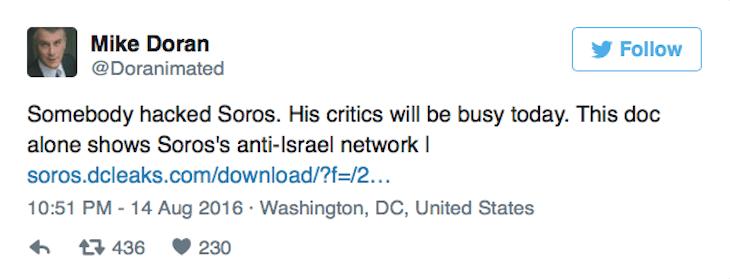 George Soros Hacked 1