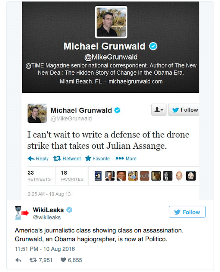 Michael Grunwald Tweet