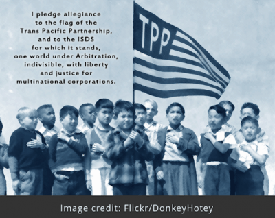 The Trans-Pacific Partnership And The Reason Mainstream Media Is Silent About It