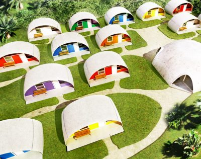 Balloon-Like Dome Houses Can Withstand Fires And Earthquakes, Start At Just $3,500