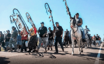 Why There's A Media Blackout on the Native American Oil Pipeline Blockade