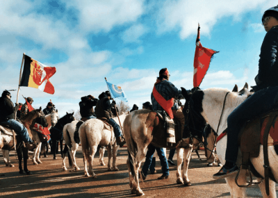 N.D. Governor Activates National Guard Against Pipeline Protest