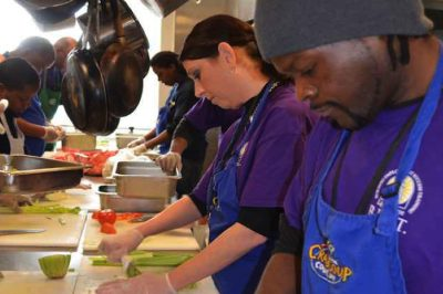 Homeless Shelter Transforms Old Facility Into Restaurant To Employ Their Own Residents
