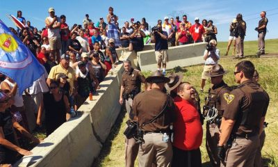 BREAKING: State Police Use Tear Gas, Point Loaded Weapons At Peaceful DAPL Protestors