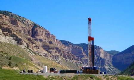 The greatest number of fatalities to oil and gas workers occur as motor vehicle fatalities when working in remote areas like this remote natural gas well near Parachute, CO.