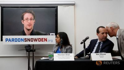 Largest Human Rights Groups In U.S. Urge Obama To Pardon Whistleblower Edward Snowden
