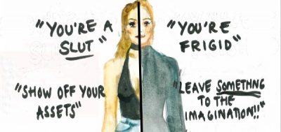 Artist's Illustrations Depict The Ridiculous Expectations Women Deal With Every Day