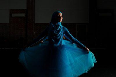 Stunning Photos Of The World's First Hijab-Wearing Ballerina