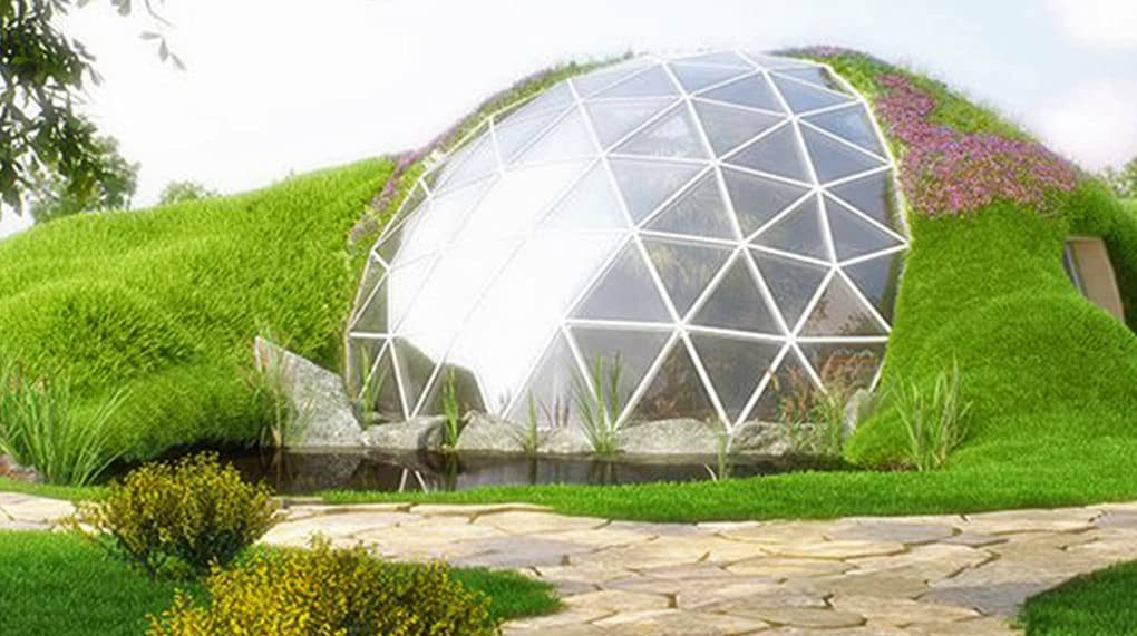 Elegant Geodesic Homes Can Withstand Earthquakes Measuring