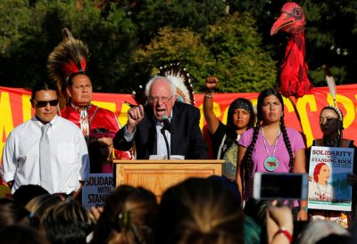 Bernie Sanders Joins Protestors By Urging Obama To Halt DAPL Construction