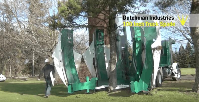 Credit: Dutchman Curved Loader Mount Tree Spade