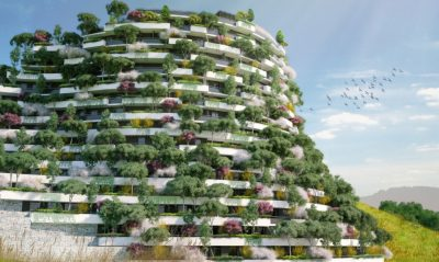Vertical Forest Hotel That Will Clean The Air To Be Built In China