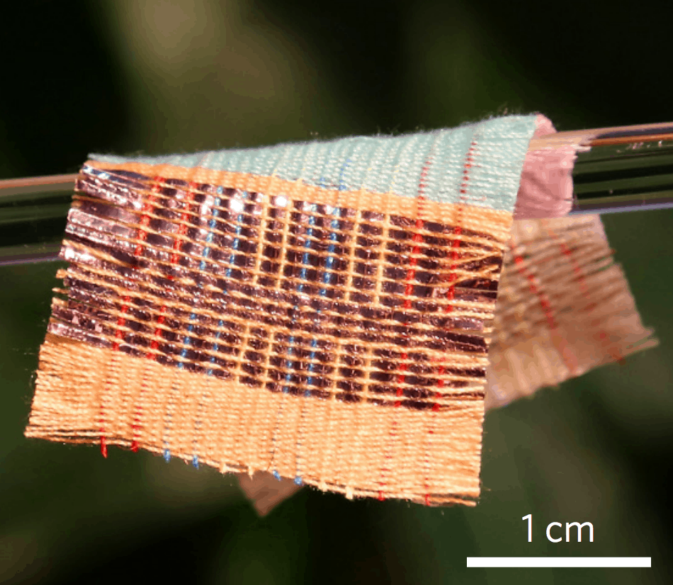 This Incredible Fabric Generates Electricity From Sunlight And Movement Textile1