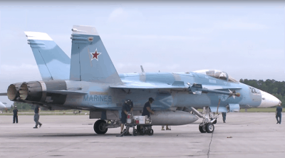 False Flag Or Standard Procedure? US Air Force Caught Repainting Several Jets To Appear Russian