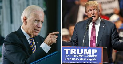 Biden Expresses Desire to Fight Trump for Groping Women, Forgets Own Groping Habit