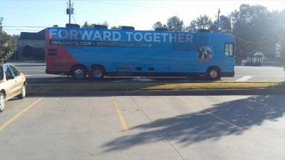 DNC Bus Dumps Human Waste On Street Of Georgia Town