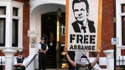 WikiLeaks Supporters Launch Plan To Restore Assange's Internet Connection
