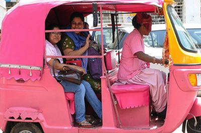 Mumbai To Allow Pink Cab Vehicles Driven Exclusively By Women And For Women