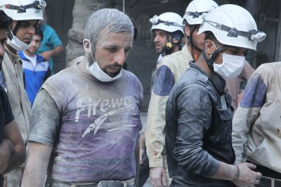 """""""Neutral"""" Syrian Volunteer Group Receives Millions From Western Governments"""