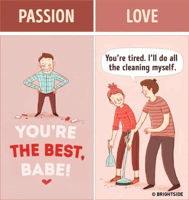 15 Illustrations Depicting The Difference Between Real