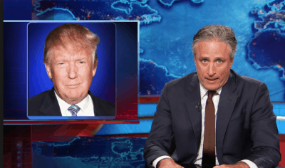 Jon Stewart Finally Comments On Donald Trump's Lewd Locker Room Talk