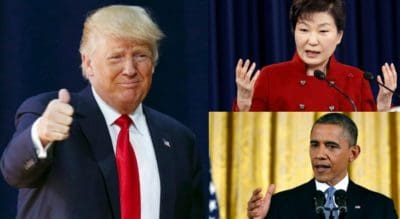 BREAKING: Trump Will Neither Repeal Obamacare Nor Withdraw US' Support From South Korea