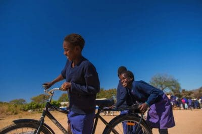 Changing The Lives Of African Girls Starts With Just Giving Them Bikes