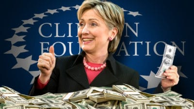 Donations To The Clinton Foundation Plummet As Family's Political Clout Evaporates