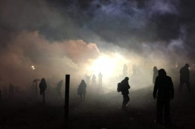Anonymous Joins DAPL Fight By Shutting Down Website That Supplies Police With Grenades