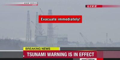 BREAKING: Massive 7.4 Earthquake Hits Fukushima, Tsunami Imminent