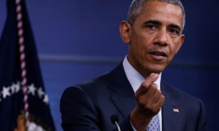U.S. President Barack Obama holds a news conference at the Pentagon in Arlington, Virginia, U.S. August 4, 2016.  REUTERS/Jonathan Ernst