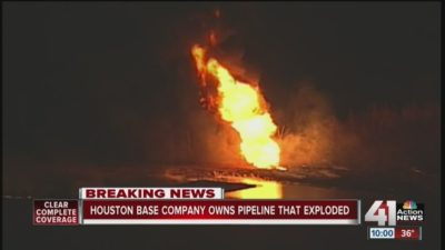 Pipeline Explosion In Kansas Highlights Unreliable Nature Of Fossil Fuel Infrastructure