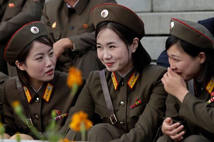Фото женщины северной кореи ню