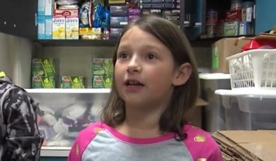 7-Year-Old Finds Discarded Lotto Ticket, Uses Funds To Feed Homeless