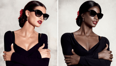 Black Model Recreates Fashion Ads To Expose Lack Of Diversity In The Industry