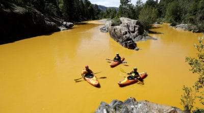 Navajo Sues Government For $160 Million Over Last Year's Mining Waste Spill