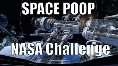 NASA Offers $30,000 To Anyone Who Can Solve Its Space Poop Problem