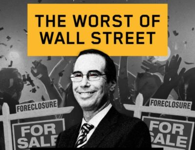 Trump's Treasury Pick Is A Goldman Sachs Banker Who Foreclosed On Tens Of Thousands