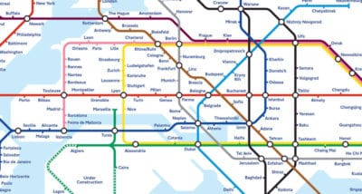 World Subway Map Shows What The Future Of Global Transport Might Look Like