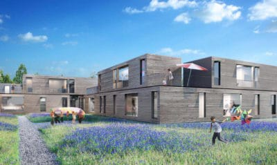 German Architect Designs Eco-Friendly Pre-Fab Homes For Syrian Refugees