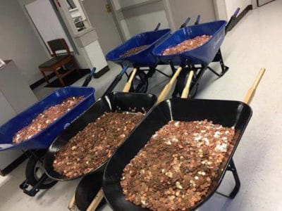 Man Pays DMV Tax Bill With 300,000 Pennies [Watch]