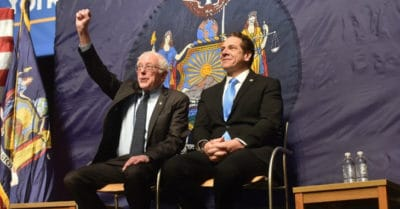 Alongside Sanders, New York Governor Announces First-In-Nation Free Tuition Plan