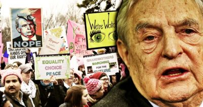 Globalist Soros Exposed Funding Over 50 Organizations In Women's March On DC