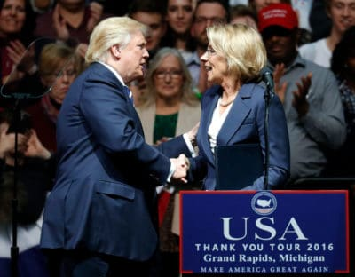 Trump Education Secretary Nominee Lies To Senate During Confirmation Hearing