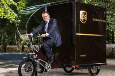UPS Debuts Delivery E-Bike In U.S. For Eco-Friendly Alternative To Trucks