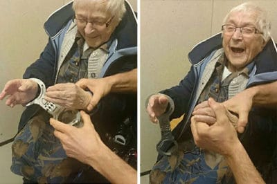 99-Year-Old Woman Gets Arrested So She Can Check It Off Her Bucket List